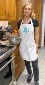 Monogrammed Chef's Apron